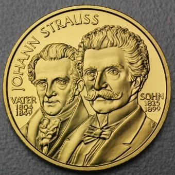 "Goldmünze ""500 Schilling-1999 Vater & Sohn"""