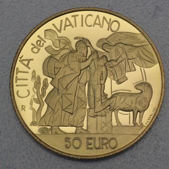 "Goldmünze ""50 Euro-2002 Abrahams Opfer"" (Vatikan)"