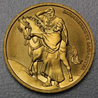 """Goldmünze """"50 Euro-2003 Nächstenliebe"""" (Österr.)"""