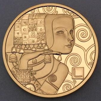 "Goldmünze ""50 Euro-2013 Klimt, Erwartung"" (Österr)"