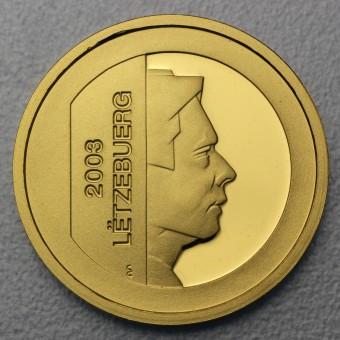 "Goldmünze ""5 Euro-2003"" (Luxemburg)"