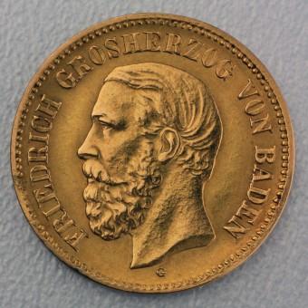 "Goldmünze ""5 Mark Friedrich I"" (Baden)"
