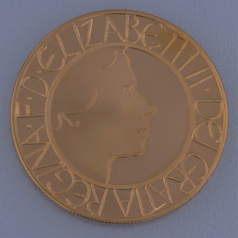"Goldmünze ""5 Sovereign Elisabeth II. 2003"" (UK)"