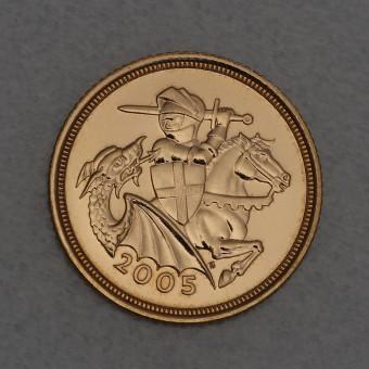 "Goldmünze ""5 Sovereign Elisabeth II. 2005"" (UK)"