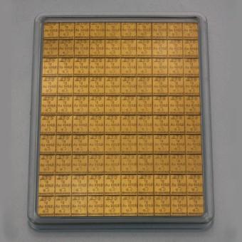 Goldtafel 100x 1g (Heimerle+Meule)