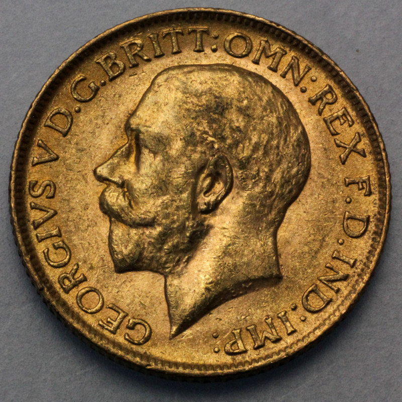 Goldmünze Sovereign 1 Pfund George Uk