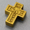 "Goldanhänger ""Kreuz/aus Isargold"" (Naturgold)"