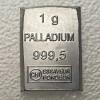 Palladiumbarren 1g CombiBar