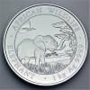 "Silbermünze 1kg ""Somalia Elefant 2019"""