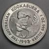 """Silbermünze """"Kookaburra - 1993"""" 1oz"""