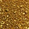 Flussgold-Goldgranulat 1g aus Deutschem Naturgold