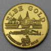 "Flussgold-Medaille 2016 ""Naturgold aus der Elbe"""