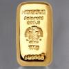 Goldbarren 100g HERAEUS, gegossen