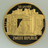"""Goldmünze """"1000 Schilling-1995 Zweite Republik"""""""