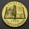 "Goldmünze 100 Dollar ""Verfassung 1982"" (Kanada)"