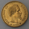 "Goldmünze ""10 Francs/Napoleon III."" (Frankreich)"