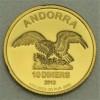 "Goldmünze 1/10oz ""Andorra Eagle"""