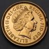 "Goldmünze ""1/2 Sovereign/Elisabeth II."" (UK)"