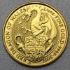 """Goldmünze 1/4oz """"Dragon of Wales 2017 Qu. Beast"""""""