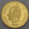 "Goldmünze ""200 Euro-2008 König Alfons X."" (Span.)"
