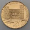 "Goldmünze ""20 Euro-2005 Porte Palentine"" (Italien)"