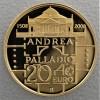 "Goldmünze ""20 Euro-2008 Andrea Palladio"" (Ital.)"
