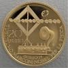 "Goldmünze ""20 Euro-2009 G. Marconi"" (Italien)"