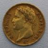 """Goldmünze """"20 Francs/Napoleon I. mit Kranz"""" (F)"""