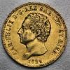 "Goldmünze ""20 Lire/Karl Felix-Sardinien"" (Ital.)"
