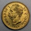 """Goldmünze """"20 Lire/Umberto I."""" (Italien)"""