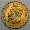 "Goldmünze ""20 Lire/Vittorio Emanuele II."" (Ital.)"