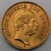 """Goldmünze """"20 Mark Georg"""" (Sachsen)"""