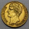 """Goldmünze """"40 Francs/Bonaparte-Prem.Consul"""" (F)"""