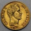 "Goldmünze ""40 Francs/Charles X."" (Frankreich)"