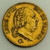 "Goldmünze ""40 Francs/Louis XVIII."" (Frankreich)"