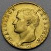 "Goldmünze ""40 Francs/Napoleon I. ohne Kranz"" (F)"