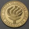 """Goldmünze """"5000 Dinar - 1984"""" (Jugoslawien)"""