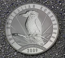 Kookaburra Silbermünze 2009