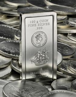 Cook Islands Münzbarren auf vielen Cook Islands Münzen
