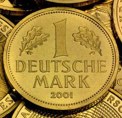1 Deutsche Mark Goldmünze