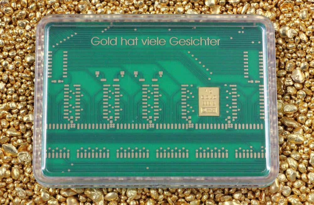 1g CombiBar mit Motiv Leiterplatte