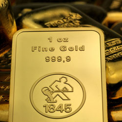 1oz Goldbarren