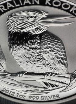 Kookaburra 2012 Silbermünze