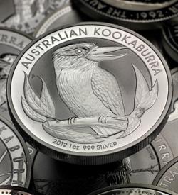 Australischer Kookaburra (Silbermünze)