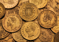 Lire Misch Goldmünzen