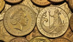 Britannia Goldmünze
