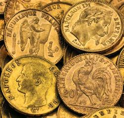 Cook Napoleon Goldmünzen