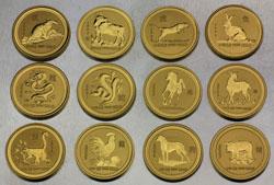 Lunar Serie Goldmünzen